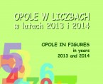 Opole in figures in years 2013 and 2014 Foto