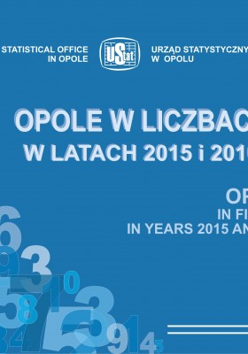 Opole in figures in years 2015 and 2016
