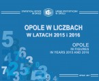Opole in figures in years 2015 and 2016 Foto