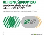 Environmental protection in Opolskie voivodship 2015-2017 Foto
