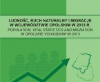 Population, vital statistics and migration in Opolskie voivodship in 2013 Foto