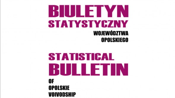 Statistical Bulletin of Opolskie Voivodship – I quarter 2017